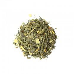 Thé vert Earl grey Bergamote