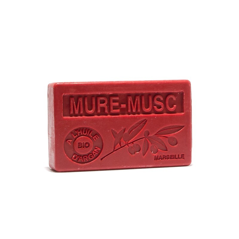 MUSC AMBRE - Savon huile d'argan bio